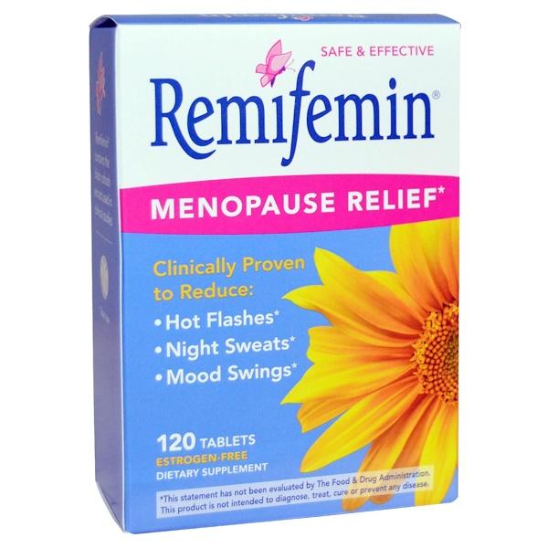 Remifemin, средство при менопаузе, 120 таблеток
