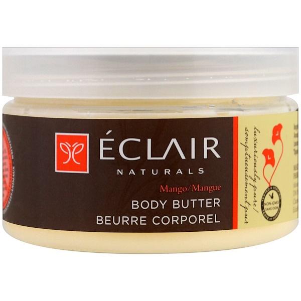 Eclair Naturals, Масло для тела, манго, 4 унц. (113 г) (Discontinued Item)