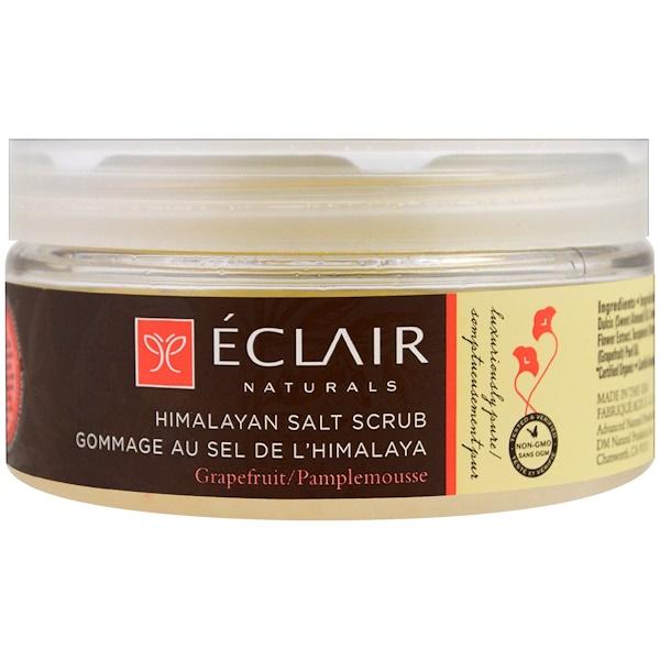 Eclair Naturals, Скраб из гималайской соли, грейпфрут, 9 унций (255 г) (Discontinued Item)