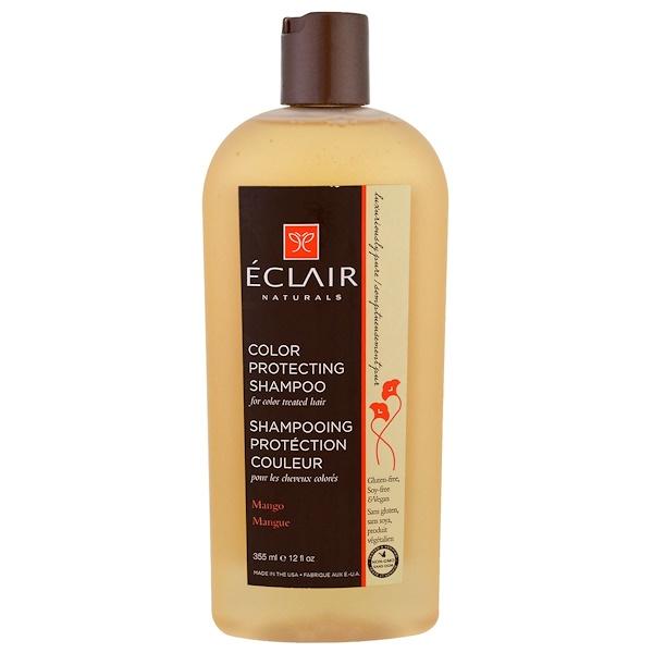 Eclair Naturals, Укрепляющий цвет шампунь, манго, 12 жидких унций (355 мл) (Discontinued Item)