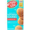 Enjoy Life Foods, Мягкое печенье, печенье сникердудл, не содержит глютен, 6 унций (170 г)