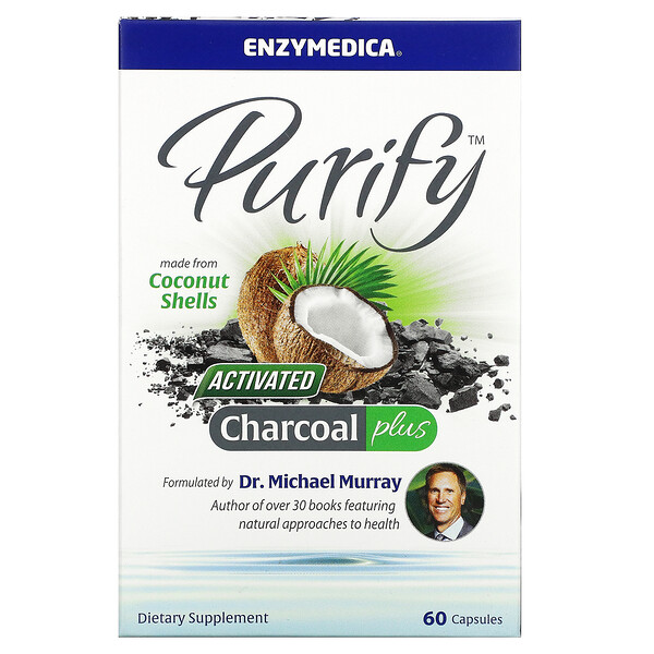 Purify, Activated Charcoal Plus, 60 Capsules