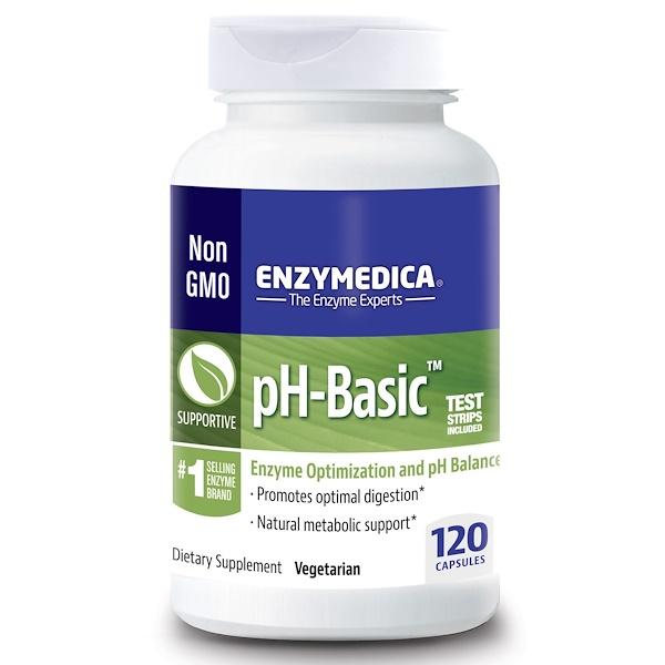 pH-Basic, 120 капсул