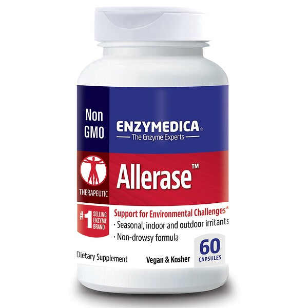 Allerase, 60 капсул