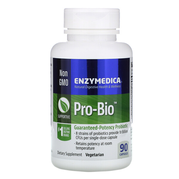 Pro-Bio, пробиотик гарантированного действия, 90 капсул