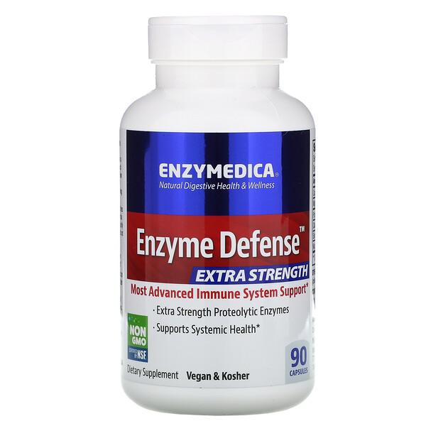 Enzyme Defense, усиленный, 90 капсул