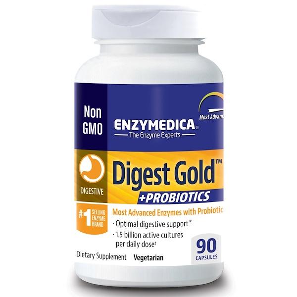Digest Gold + пробиотики, 90 капсул