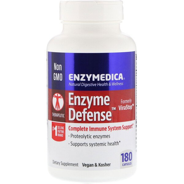 Enzyme Defense, 180 капсул
