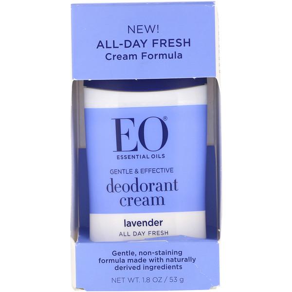 EO Products, Крем-дезодорант, лаванда, 53г (Discontinued Item)