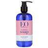 EO Products, Мыло для рук, роза и лимон, 355мл