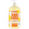 EO Products, Everyone for Every Body, детское мыло, 3 в 1, с запахом апельсинового сока, 946 мл (32 жидкие унции)