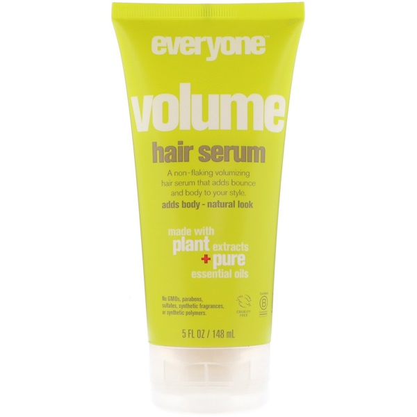 EO Products, Voume Hair Serum, 5 fl oz (148 ml) (Discontinued Item)