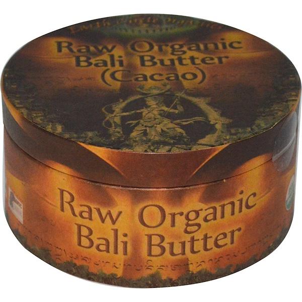 Earth Circle Organics, Сырое органическое масло какао (Бали), 250 г (Discontinued Item)