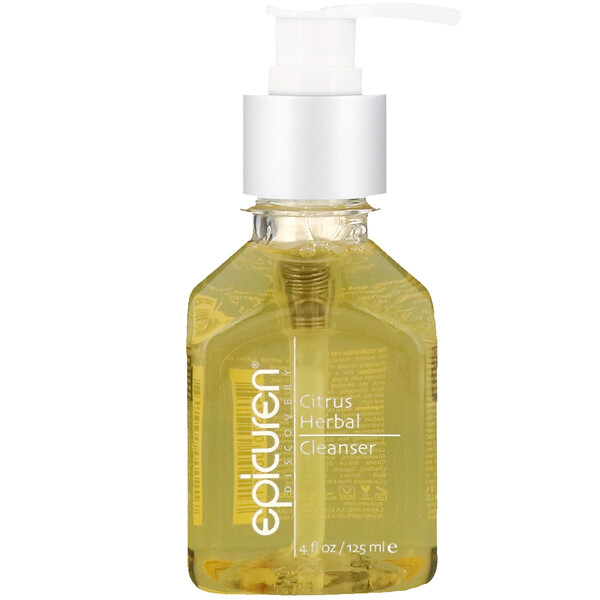 Epicuren Discovery, Citrus Herbal Cleanser, 4 fl oz (125 ml)