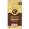 Equal Exchange, Органический темный шоколад, кусочки поджаренного миндаля, 2,8 унции (80 г)