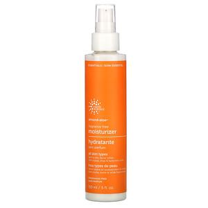 Earth Science, Almond-Aloe Moisturizer, Fragrance Free, 5 fl oz (150 ml)