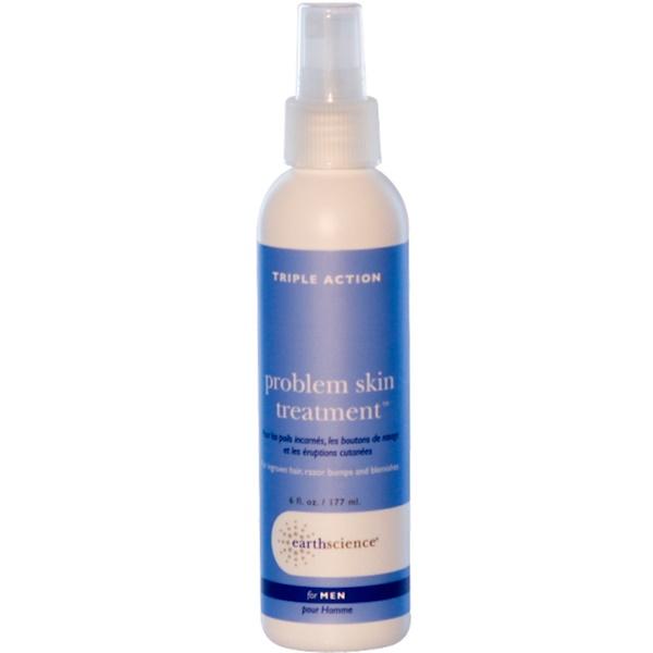 Earth Science, Problem Skin Treatment, For Men, 6 fl oz (177 ml) (Discontinued Item)
