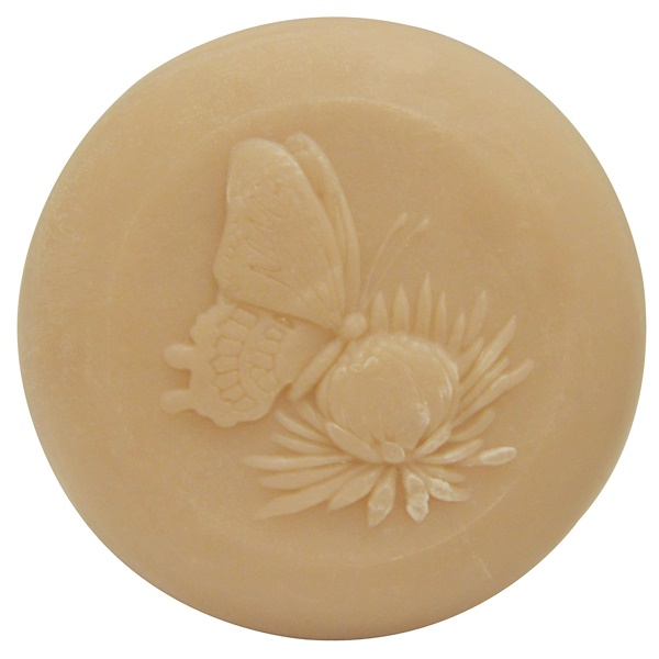European Soaps, Pre de Provence, Butterfly Bar Soap, 5.2 oz (150 g) (Discontinued Item)