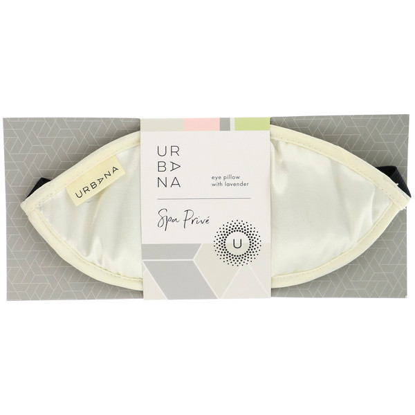 Urbana, частный спа, подушка для глаз с лавандой, 1 подушка для глаз