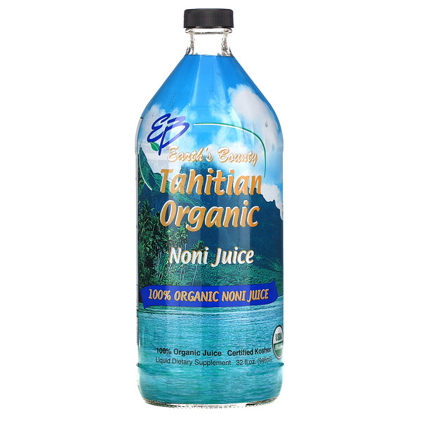Натуральный таитянский сок нони (Tahitian Organic Noni Juice), 32 жидких унций (946 мл)