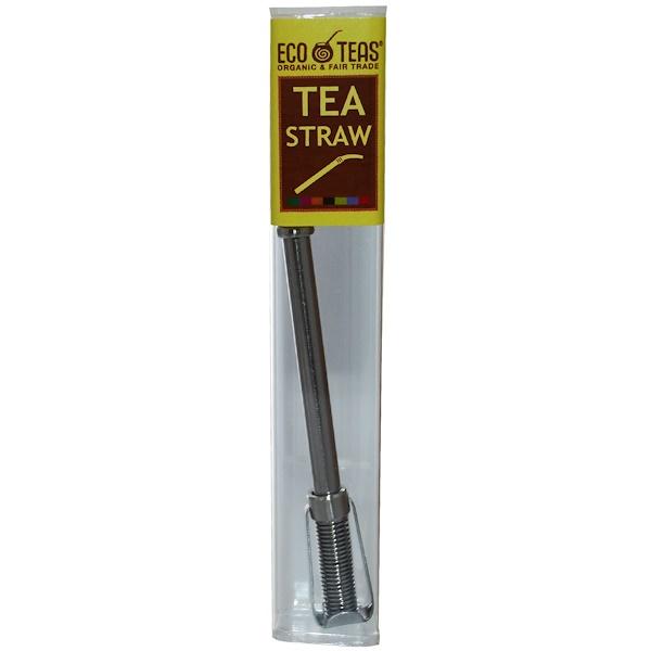 Eco Teas, Соломинка для чая, 1 соломинка (Discontinued Item)