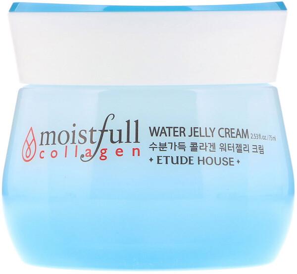 Etude House, Moistfull Collagen, Water Jelly Cream, 2.53 fl oz (75 ml) (Discontinued Item)