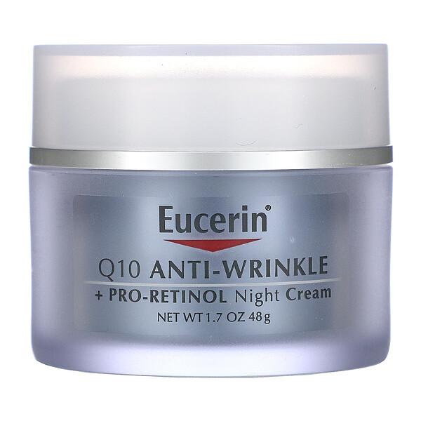 Q10 Anti-Wrinkle + Pro-Retinol Night Cream , 1.7 fl oz (48 g)