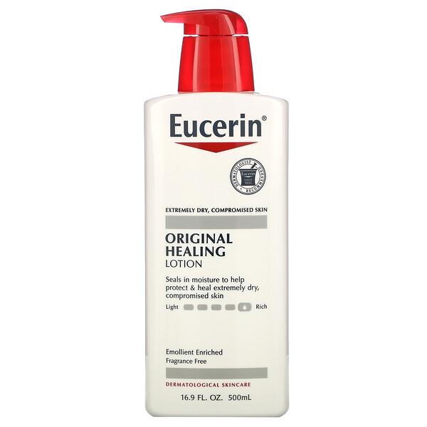 Eucerin, Оригинальный лечебный лосьон, 500 мл (16,9 жидкой унции)