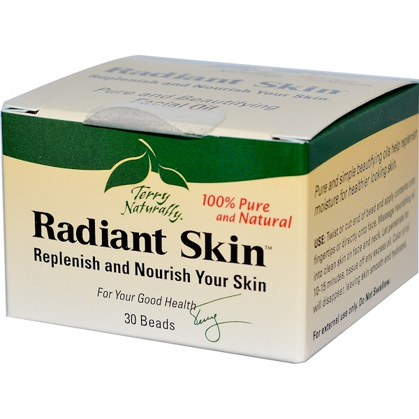 Terry Naturally, Terry Naturally, Radiant Skin, 30 Beads (Discontinued Item)