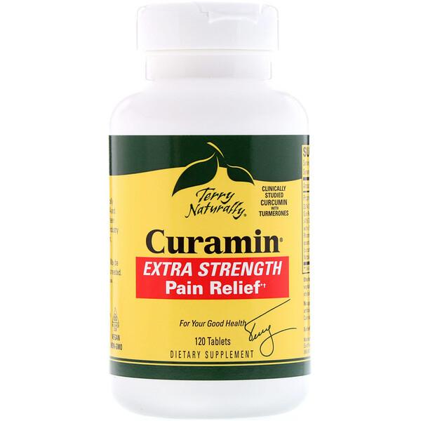 Curamin, очень сильное обезболивающее, 120 таблеток