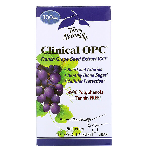 Clinical OPC, 300 мг, 60 капсул