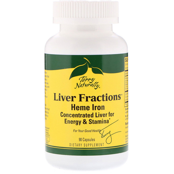 Liver Fractions, 90 Capsules