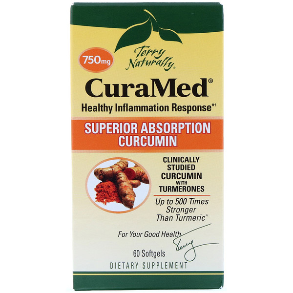 CuraMed, 750 мг, 60 гелевых капсул