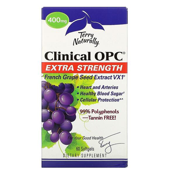 Clinical OPC, с повышенной силой действия, 400мг, 60мягких таблеток