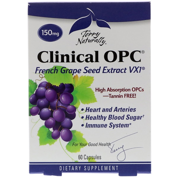 Clinical OPC, 150 мг, 60 капсул
