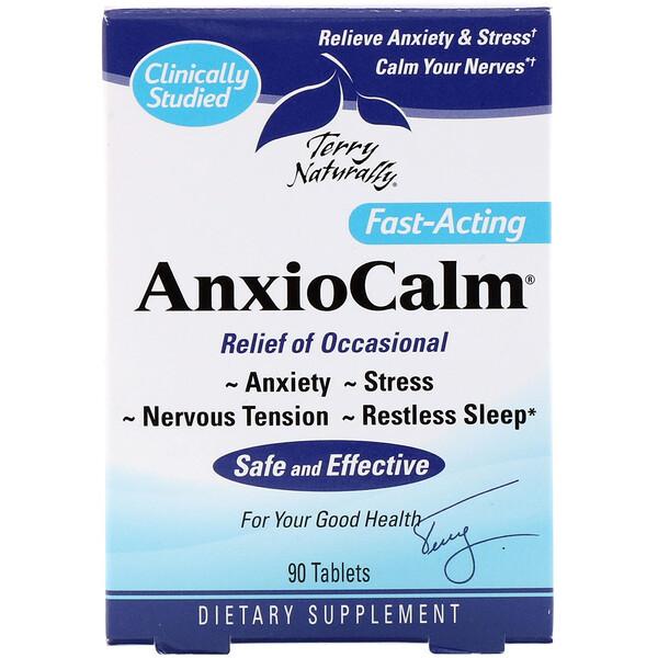 AnxioCalm, успокоительное средство, 90 таблеток