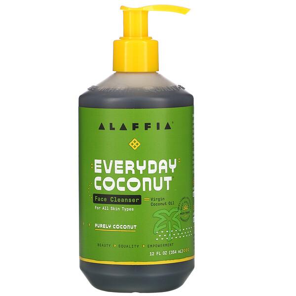 Alaffia, Everyday Coconut, очищающее средство для лица, 354мл (12жидк.унций)