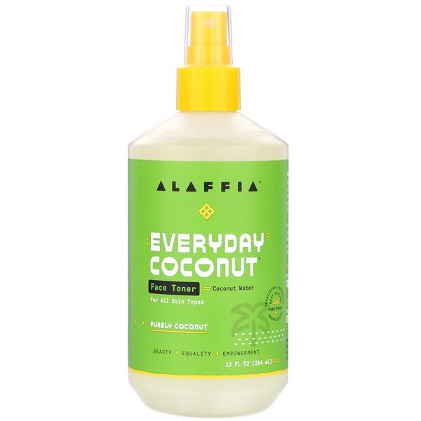 Everyday Coconut, тоник для лица, чистый кокос, 354 мл (12 жидких унций)