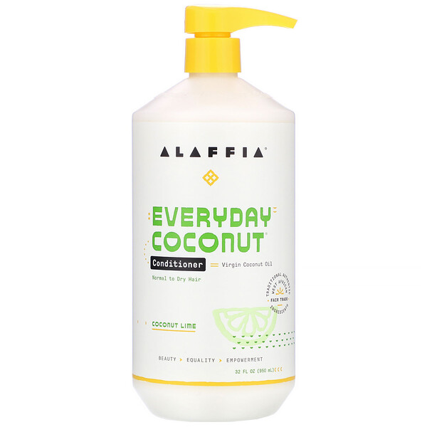 Everyday Coconut, Conditioner, Normal to Dry Hair, Coconut Lime, 32 fl oz (950 ml)