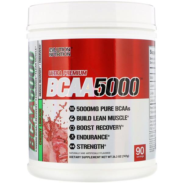 Ultra Premium BCAA 5000, Cherry Limeade, 26.3 oz (747 g)