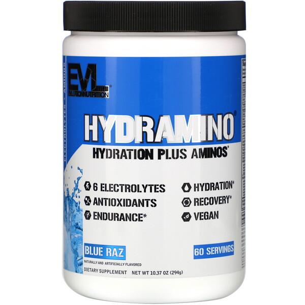 Hydramino, Blue Raz, 10.37 oz (294 g)
