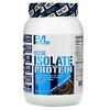 EVLution Nutrition, 100% изолят белка, двойной насыщенный шоколад, 726 г (1,6 фунта)