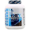 EVLution Nutrition, 100% сывороточного протеина, двойной шоколад, 2,268кг (5фунтов)