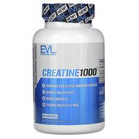 EVLution Nutrition, Creatine1000, 1,000 mg, 120 Veggie Capsules