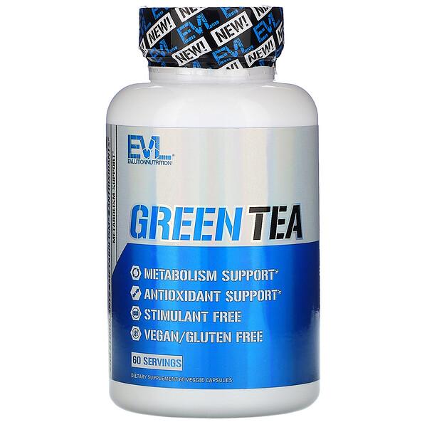 Green Tea, 60 Veggie Capsules