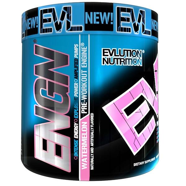 EVLution Nutrition, Предтренировочный Комплекс ENGN,  Арбуз, 7,9 унций (252 г) (Discontinued Item)