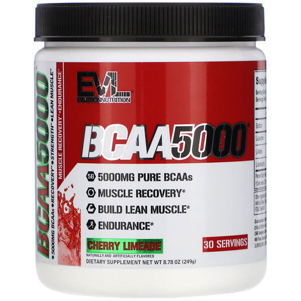 BCAA 5000, Cherry Limeade, 8.78 oz (249 g)