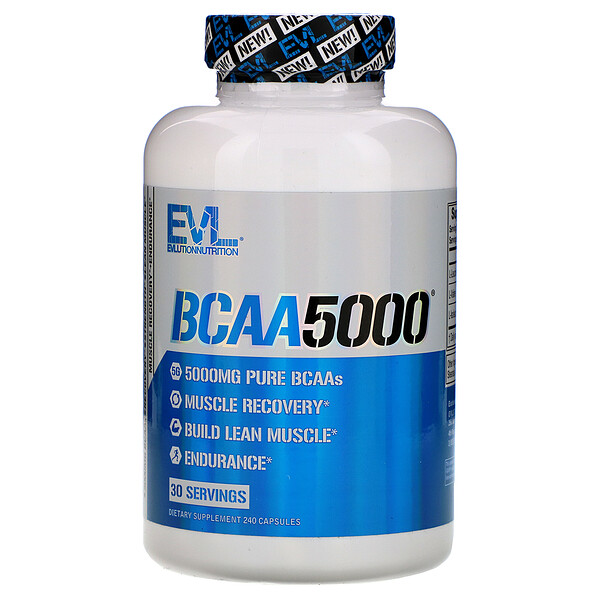 BCAA5000, 240капсул