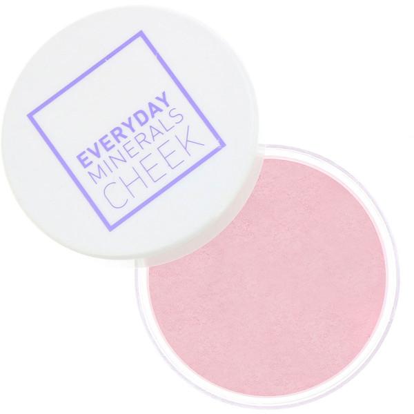 Everyday Minerals, Румяна, розовый бутон, 4,8 г (0,17 oz) (Discontinued Item)