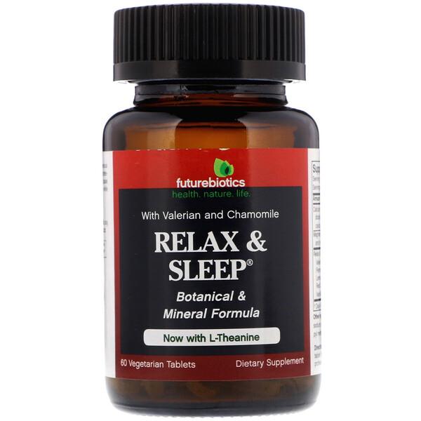 Расслабление и сон, 60 растительных таблеток